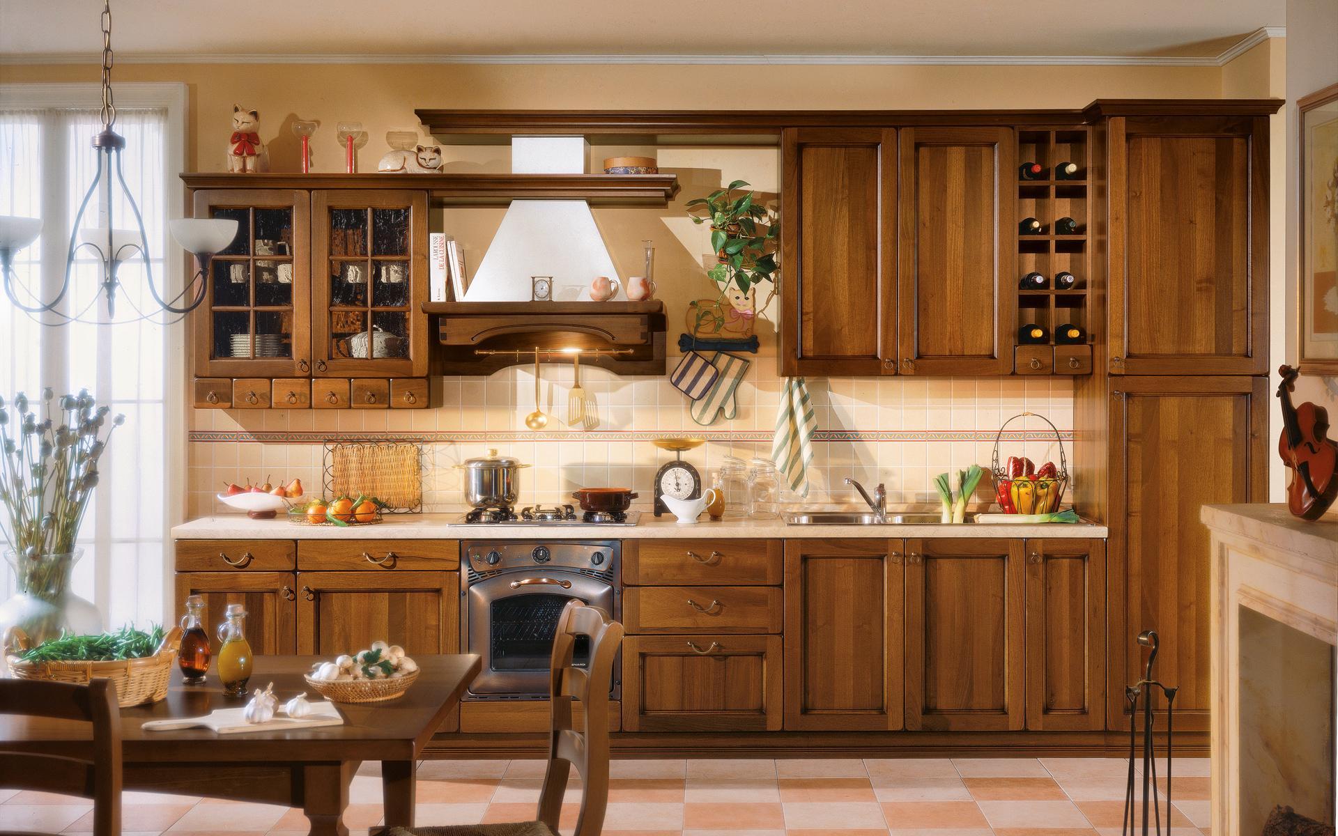 Cucine A Scomparsa Economiche: Cucina in linea. Cucine componibili. .