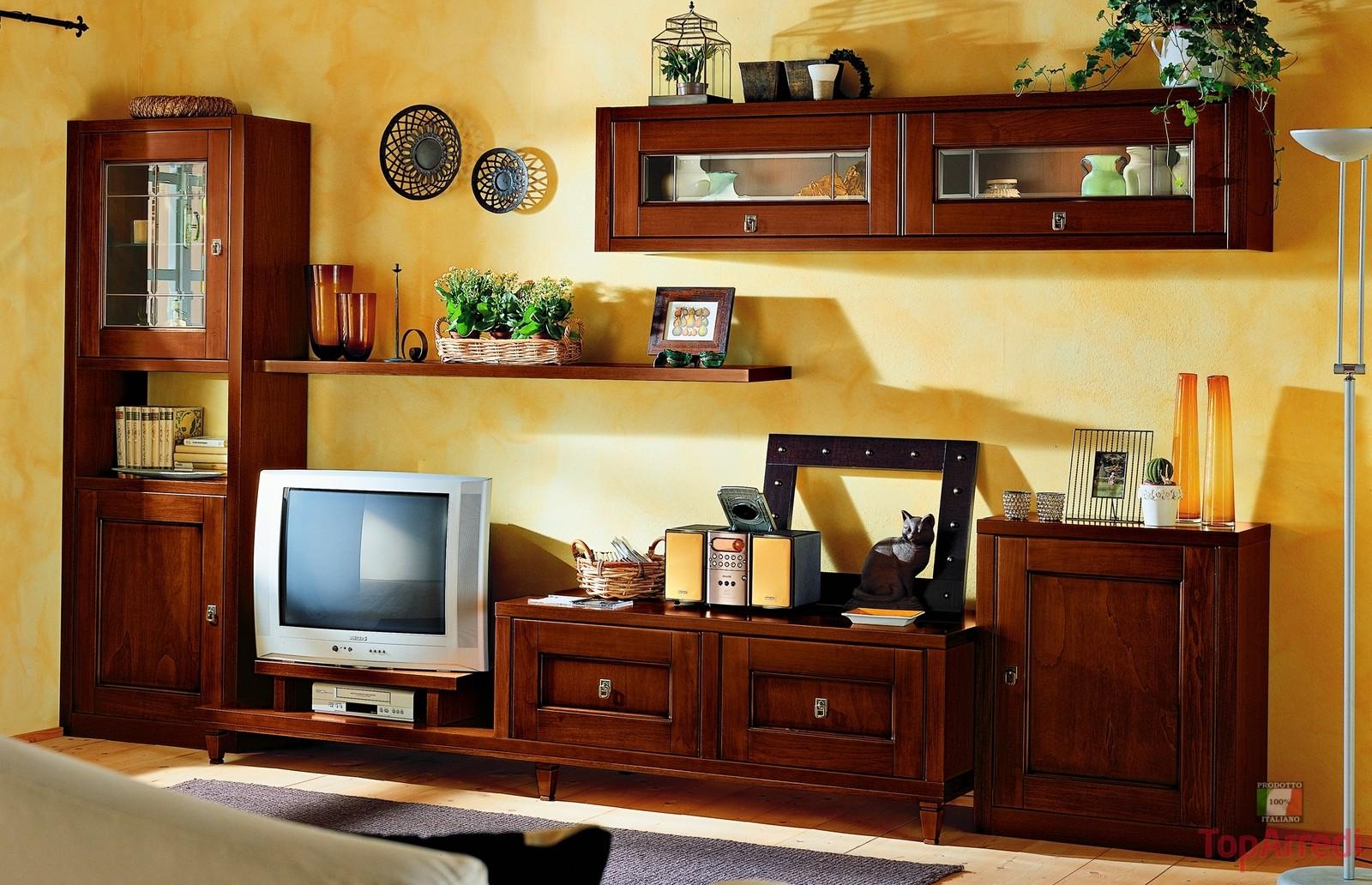 mobili a parete per soggiorno classici : Cavaliere Mobili ? Classico